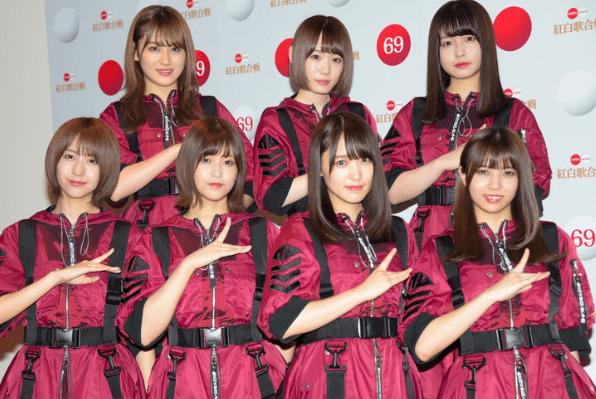 欅坂46もデビュー時に改名