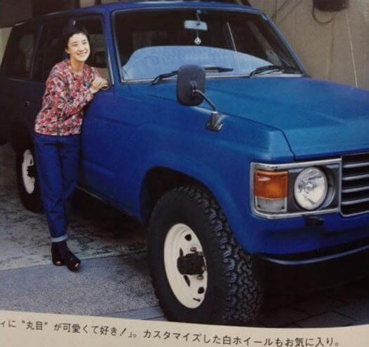 蒼井優さんの愛車はランドクルーザー
