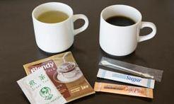 ホテルのアメニティ,お茶やコーヒー