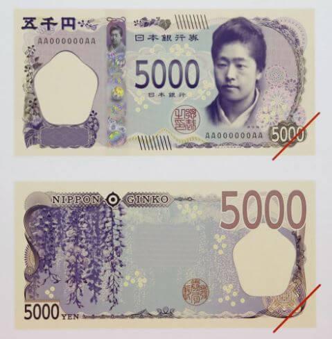 新5千円札に選ばれた津田梅子デザイン