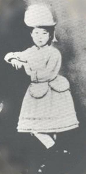 渡米時の津田梅子
