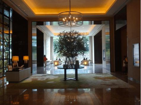 トランプ大統領来日,宿泊先,パレスホテル東京