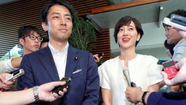 小泉進次郎と滝川クリステルが結婚!妊娠