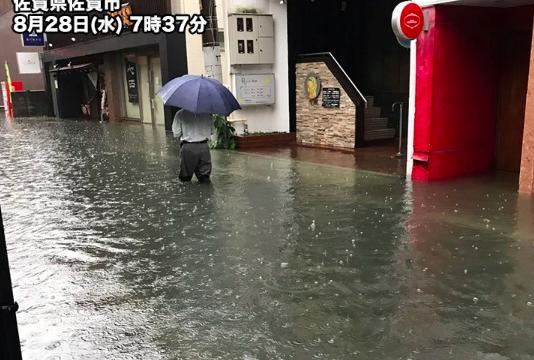 佐賀の大雨で牛津川や松浦川が氾濫!現在の水位とライブカメラを見る方法は?