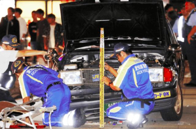 名古屋市金山駅の暴走事故の明和タクシー運転手の原因は?