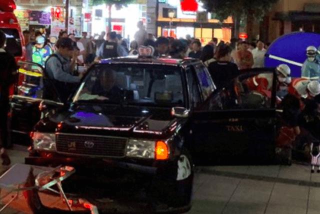 名古屋金山駅暴走事故の明和タクシーの運転手は小森勝弘容疑者の顔画像
