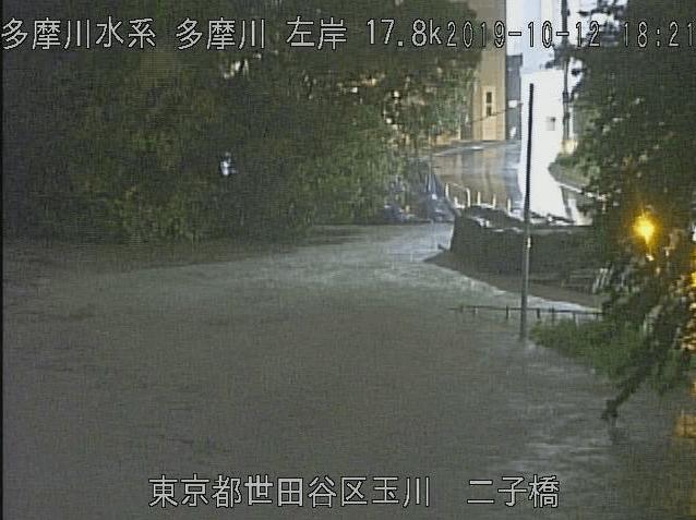大田 区 多摩川 水位