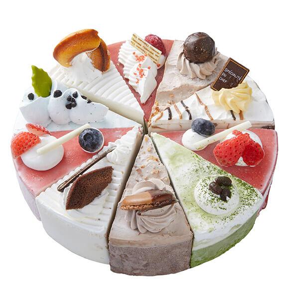 シャトレーゼのクリスマスケーキ2019はXmasアイスアソートケーキ THE ICE CREAM SHOP
