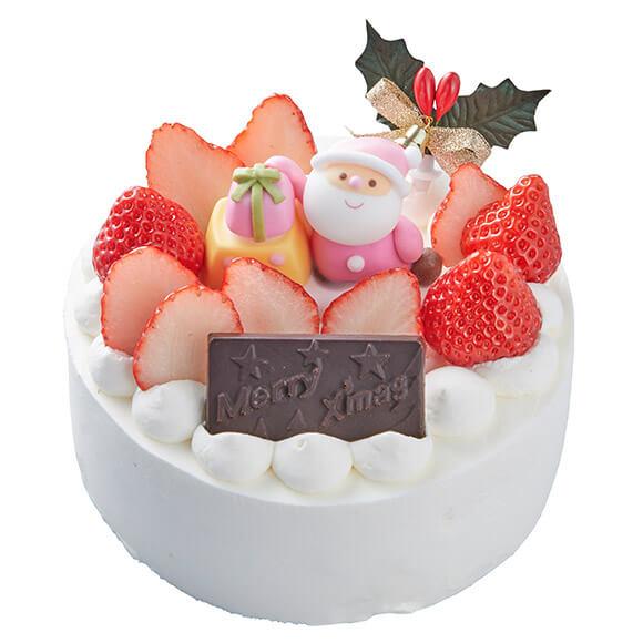シャトレーゼのクリスマスケーキ2019は乳と卵と小麦粉を使用していないXmasデコレーション