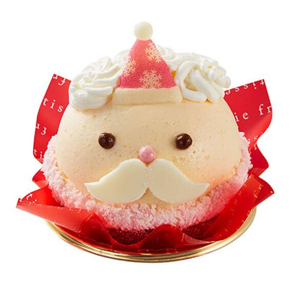 シャトレーゼのクリスマスケーキ2019はXmasしろいおひげのサンタさん