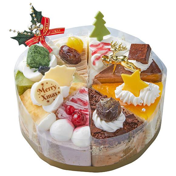 シャトレーゼのクリスマスケーキ2019!Xmasアソートデコレーション