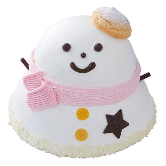 シャトレーゼのクリスマスケーキ2019はXmasハッピー雪だるま