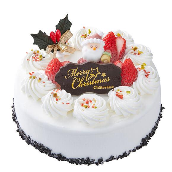 シャトレーゼのクリスマスケーキ2019はXmasアイスデコレーションベルギーショコラ
