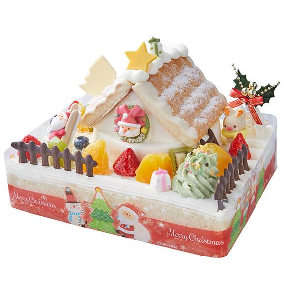 シャトレーゼのクリスマスケーキ2019!Xmasサンタハウスデコレーション