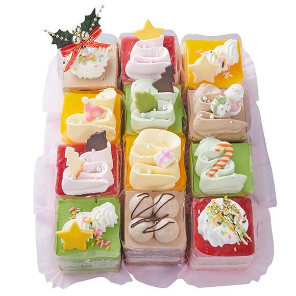 シャトレーゼのクリスマスケーキ2019はXmasプティフール12個入