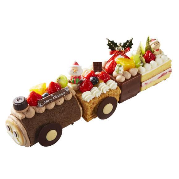 シャトレーゼのクリスマスケーキ2019のXmasフルーツトレイン2019