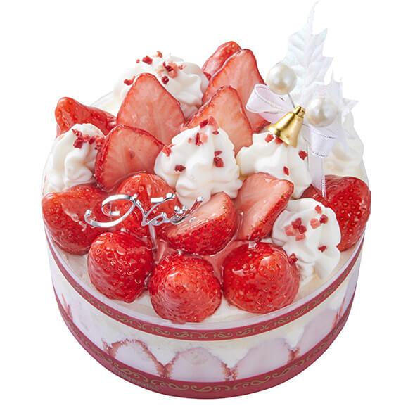 2019シャトレーゼのクリスマスケーキはXmasプレミアム苺デコレーション