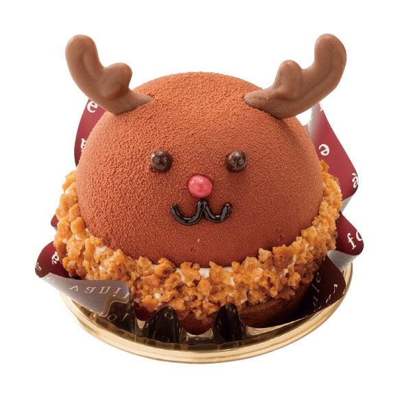シャトレーゼのクリスマスケーキ2019はXmas 真っ赤なおはなのトナカイさん
