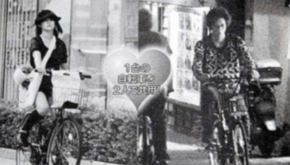 五十嵐麻朝さんは深田恭子さんと同じ自転車を共有