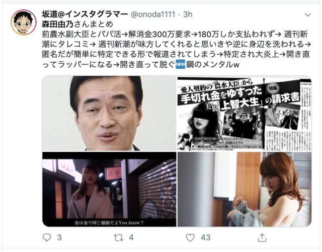 パパ活女子で元CanCam読モの森田由乃のグラビア画像(写真)まとめ