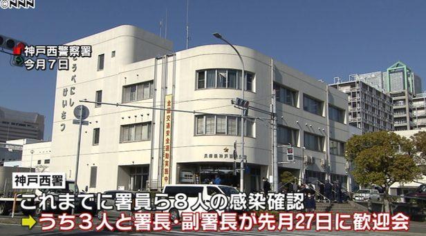 神戸西警察署の場所はどこ?コロナ感染の署長と副署長は誰で名前は?【兵庫県神戸市新型コロナウイルス感染者】