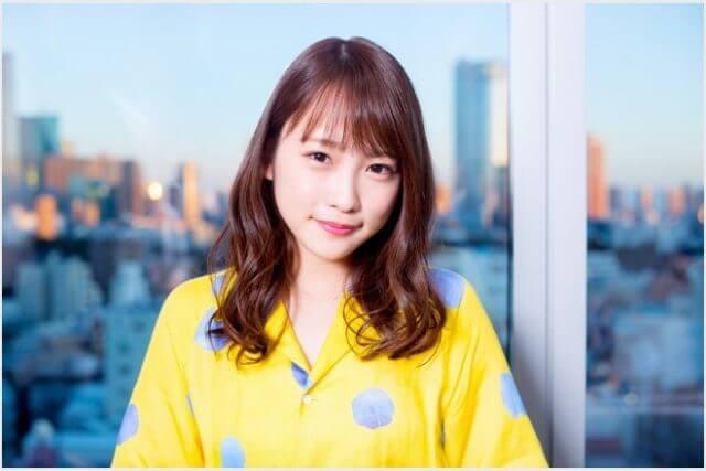 2018年妊娠前の川栄李奈