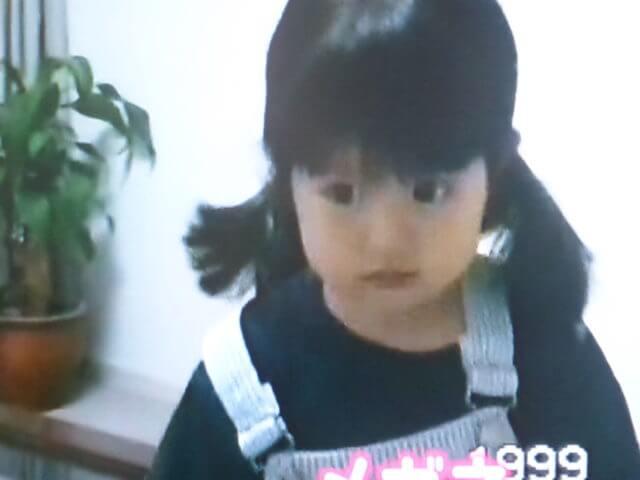 今田美桜さん子供時代
